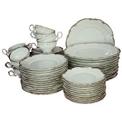 Hutschenreuther China Revere Pattern 60-Piece Set Service for 12