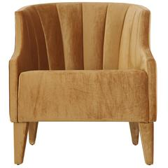 European Modern Aspen Club Chair Armchair