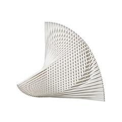 Bertil Herlow Svensson Sculpture 'Sektorns Mekanik' in Aluminium