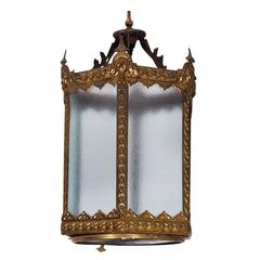 Elegant Brass Hall Light