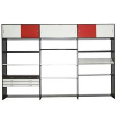 Pilastro Industrial Three Section Cabinet