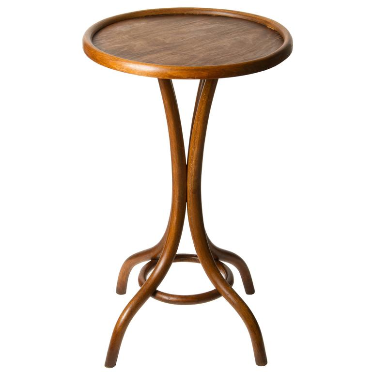 Thonet Bentwood Side Table At 1stdibs
