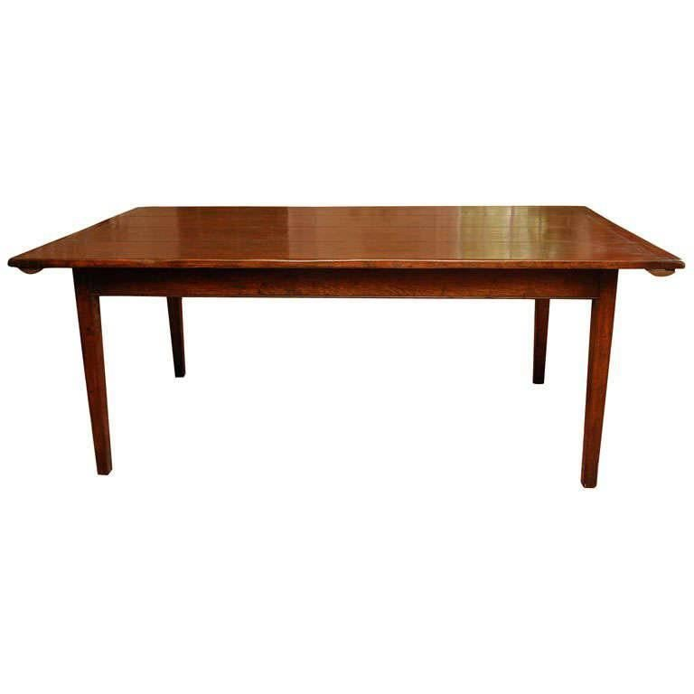 Farm Dining Table For Sale: Reproduction Farm Dining Table In Oak For Sale At 1stdibs