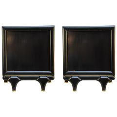 Pair of Bedside Nightstands, USA, 1960s