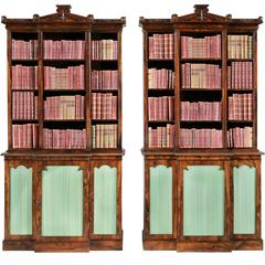 Pair of Antique Bookcases of the William IV Period