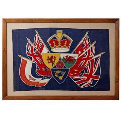 George VI Coronation Banner, circa 1937
