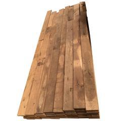 Original 17th Century French Wood Oak Floor Ready for Installation, France