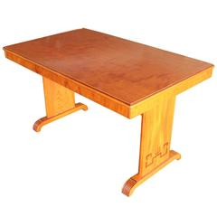 Swedish Art Deco Period Rectangular Inlaid Table