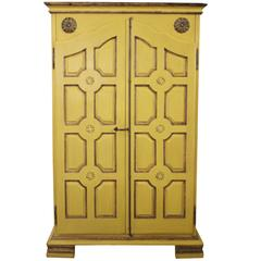 Yellow Armoire from Marshall Fields