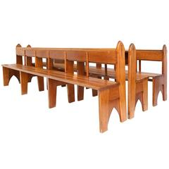 Amsterdamse School Style Benches