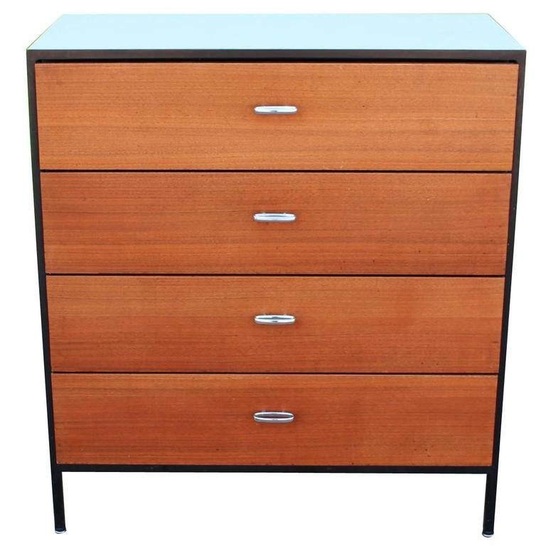 George Nelson Secretary and Chest of Drawers for Herman Miller For Sale
