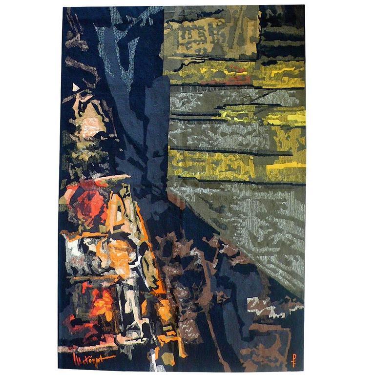 Mathieu Matégot Aubusson Tapestry