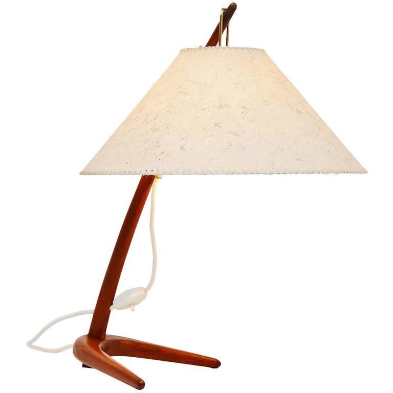 J.T. Kalmar Dornstab Table Lamp, Austria, 1947