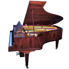 Grand Piano Erard Paris 1927, French Art Deco Rosewood Case, Restored