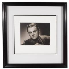 Framed and Original Documented Photograph of James Cagney by George Hurrell