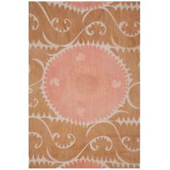 "Vintage Uzbek Embroidery or ""Suzani,"" Central Asia, circa 1960s"