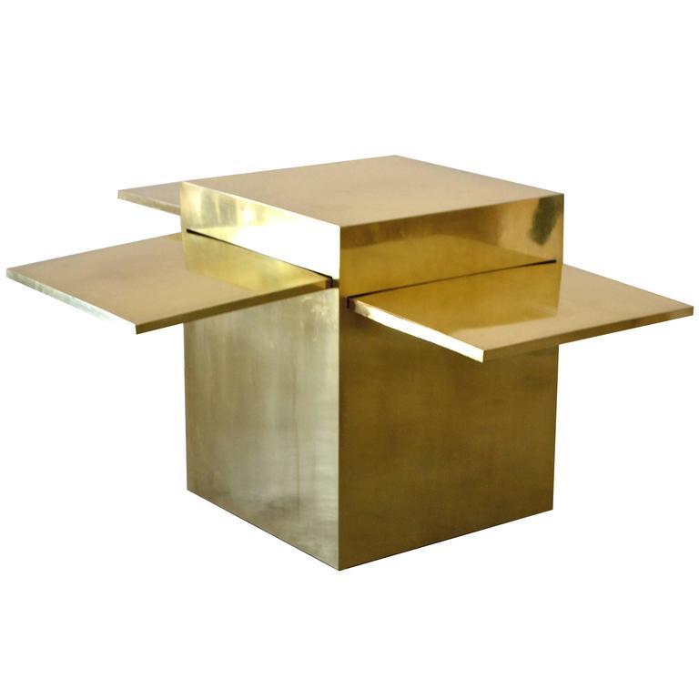 "Gabriella Crespi ""Magic Cube"" Bar Cabinet For Sale"
