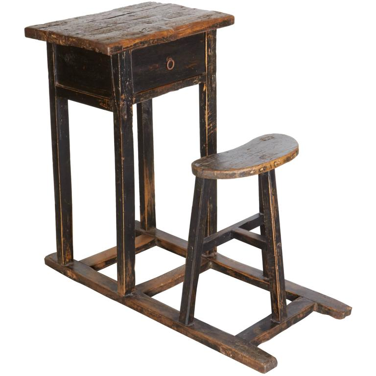 Antique Chinese School Desk 1 - Antique Chinese School Desk For Sale At 1stdibs