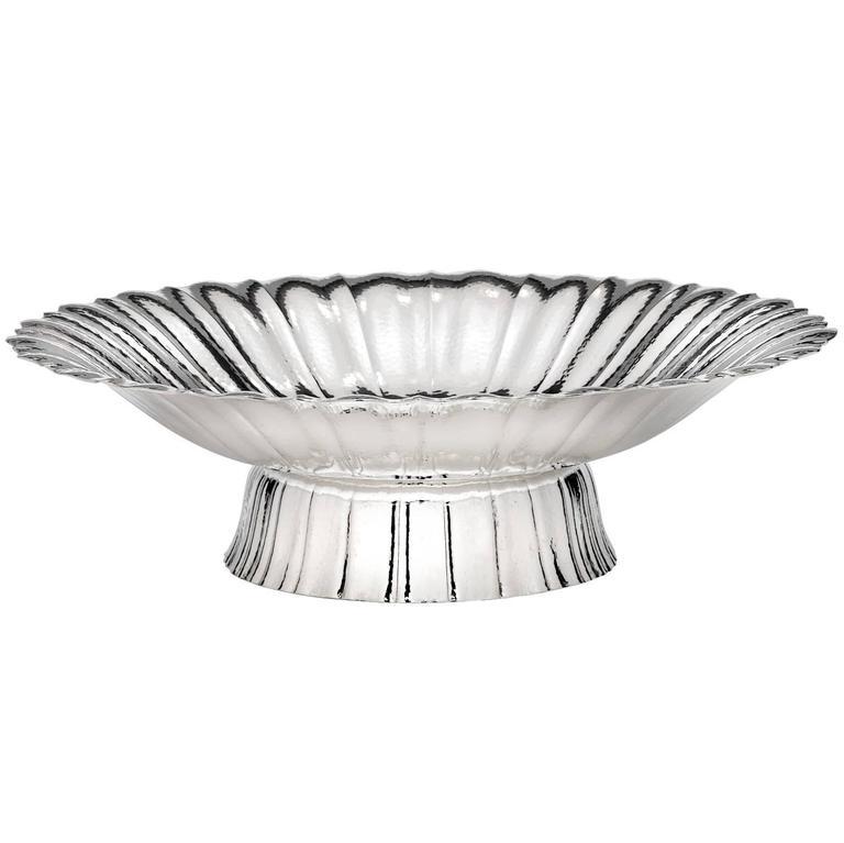 Martele Bowl by Oswald Haerdtl for Wiener Silber Manufactur