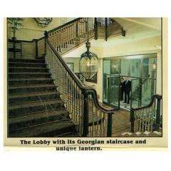 Grand Georgian Style Staircase, circa 1900