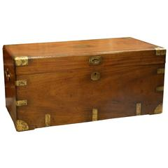 Camphor Wood Brass Bound Trunk