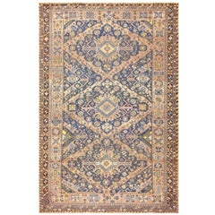 Antique Tribal Caucasian Soumak Carpet