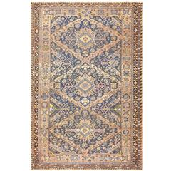 Antique Tribal Caucasian Soumak Carpet