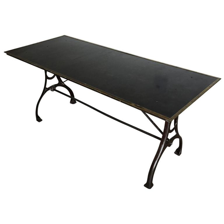 Early Industrial Table From The National Geographic Society