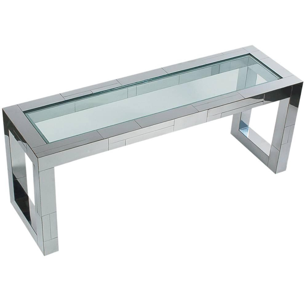 Paul Evans Cityscape Chrome And Glass Console Sofa Table. White Dining Table And Chairs. Small Outdoor Table. Extra Long Dining Table. Bureau Drawer Pulls. Sturdy Computer Desk. What Is Hot Desking. Small Desk Shelf. Best Ikea Desk Chair
