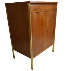 Mahogany Server or Bar Cabinet by Paul McCobb for Calvin