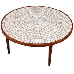 Tile Coffee Table by Gordon & Jane Martz for Marshall Studios
