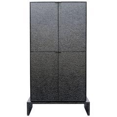 V4 Cabinet in Hand-Carved Maple Hardwood