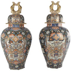 Pair of Imari Vases from the Estate of F.D. Roosevelt