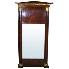 19th Century Neoclassic Baltic Mirror