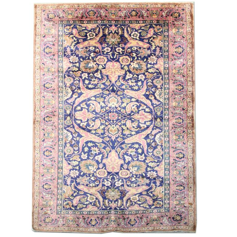 Antique Rugs, Pure Silk Rugs, Turkish Rugs, Carpet from Turkey For Sale