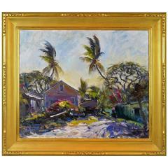 'Morning Light' Florida Impressionism by Robert C. Gruppe