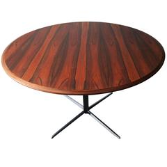 Striking Rosewood Adjustable Center Table or Coffee Table by Wilhelm Renz