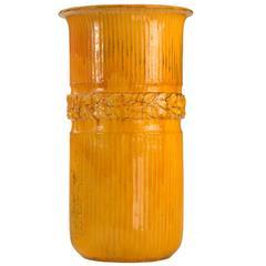 Svend Hammershøi for Kähler, Rare and Monumental Uranium Glaze Stoneware Vase