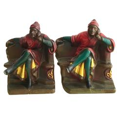 Pair of Dante Bookends