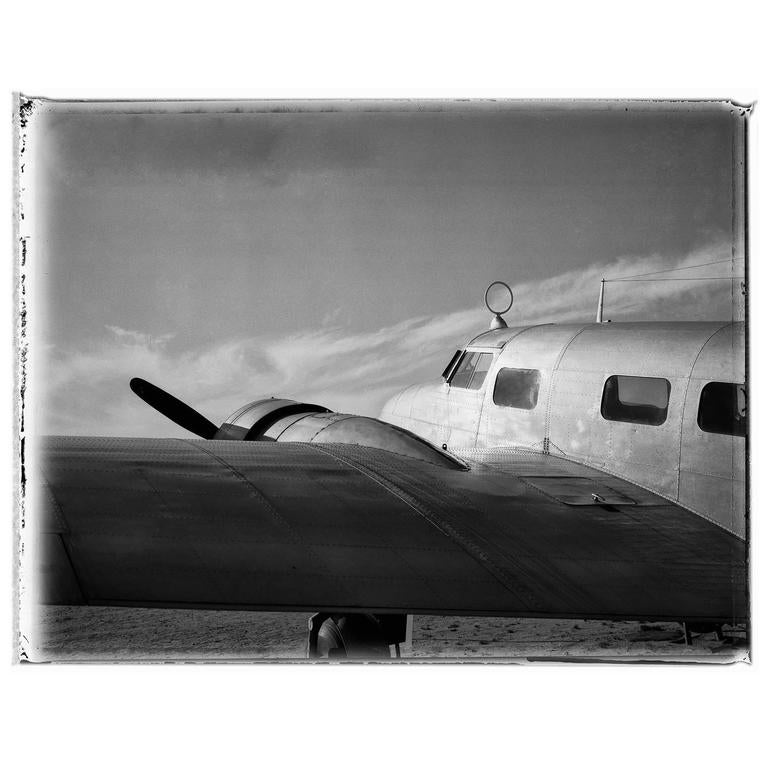 Airplane Photograph by Charles Baker 1