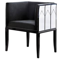 White Cranbrook Armchair Design Eliel Saarinen