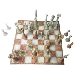 Vintage Chess Marble Set, 1970