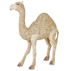 Almost Lifesize Shell Camel Attributed to Antony Redmile