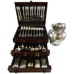14th Century by Shreve Sterling Silver Flatware Service 12 Set 140 Pieces