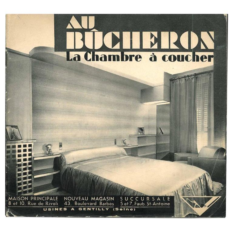 Au bucheron la chambre coucher book for sale at 1stdibs for La chambre a coucher