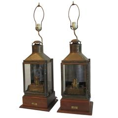 Nautical Brass Ship Lanterns Lamps