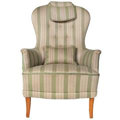 Swedish Carl Malmsten 'Farmor' Lounge Chair, 1960s