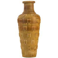 Gunnar Nylund for Rörstrand, Monumental Swedish Glazed Stoneware Vase