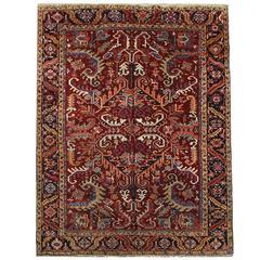 Antique Persian Rugs, Carpet from Heriz