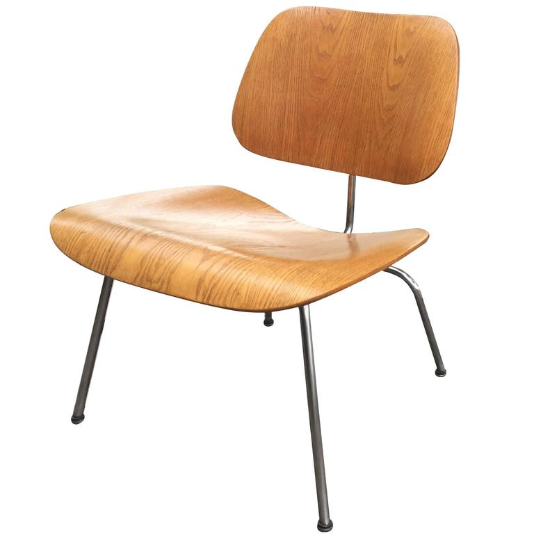 Mid Century Modern Lcw Molded Plywood Lounge Chair Eames
